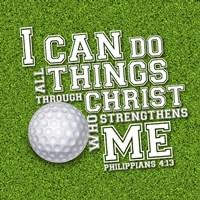 I Can Do All Sports - Golf Fine-Art Print