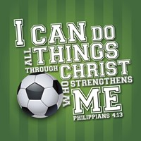 I Can Do All Sports - Soccer Fine-Art Print