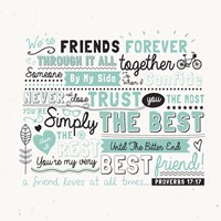 Friends Forever Fine-Art Print