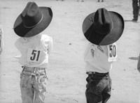 Littlest Cowboys: 50 & 51 Fine-Art Print