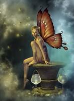 Fairy Glowflies Fine-Art Print