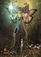 Forest Sentinel Fine-Art Print