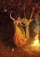 Fire Dance Fine-Art Print