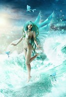 Dance Of The Sea Fairy Fine-Art Print