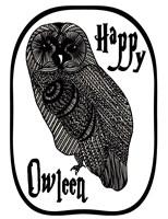 Happy Owleen Fine-Art Print