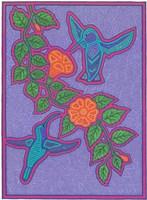 Hummingbirds Framed Print