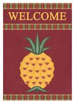 Plaid Pineapple Banner Fine-Art Print