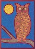 Large Owl Fine-Art Print