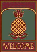 Pineapple Banner Fine-Art Print