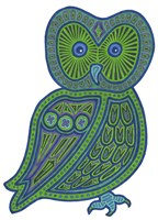 Owl Green Fine-Art Print
