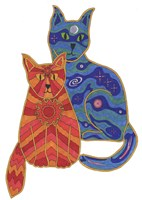 Night and Day Cats Fine-Art Print