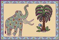 Elephant Left Page Fine-Art Print