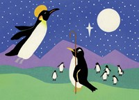 Herald Penguin Fine-Art Print