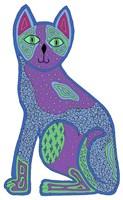 Calico Sitting Cat Fine-Art Print