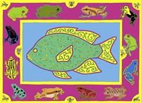 F Fish Fine-Art Print