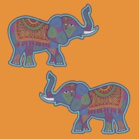 2 Elephants Fine-Art Print