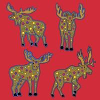 4 Moose Fine-Art Print