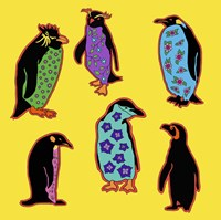 6 Penguins Fine-Art Print