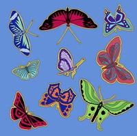 9 Butterflies Fine-Art Print