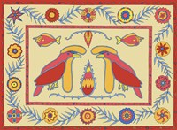 U Umbrella Birds Fine-Art Print