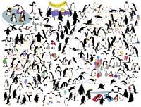 Party Penguins Fine-Art Print