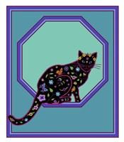 Octagonal Cat Fine-Art Print