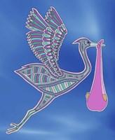 Stork Girl Fine-Art Print