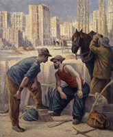 The Diggers, 1908-1912 Fine-Art Print