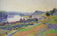 The Seine At Herblay, 1890 Fine-Art Print