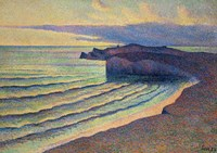 Seashore In Normandy, 1893 Fine-Art Print