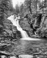Rushing Waterfall In Gorge Fine-Art Print