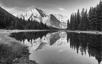 Lake Reflecting White Mountains Fine-Art Print