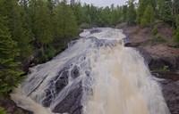 North Shore Rushing Water Rapids Fine-Art Print