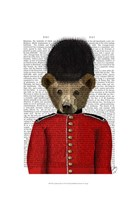 Guardsman Bear Fine-Art Print