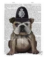 Bulldog Policeman Fine-Art Print