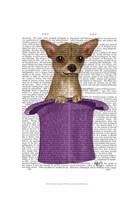 Chihuahua in Top Hat Fine-Art Print