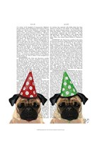 Party Pugs Pair Fine-Art Print