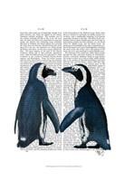 Penguins in Love Fine-Art Print