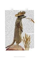 Meerkat Cowboy Fine-Art Print