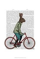 Rabbit On Bike Fine-Art Print