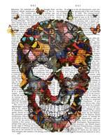 Butterfly Skull Fine-Art Print