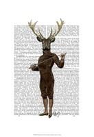 Fencing Deer Full Fine-Art Print