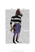 Horse Racing Jockey Full Fine-Art Print
