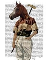 Polo Horse Portrait Fine-Art Print