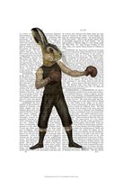 Boxing Hare Fine-Art Print