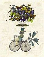 Time Flies Rabbit Fine-Art Print