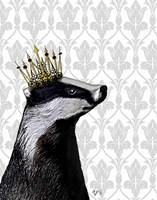 Badger King II Fine-Art Print