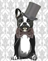 Monsieur Bulldog Fine-Art Print