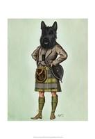 Scottish Terrier in Kilt Fine-Art Print