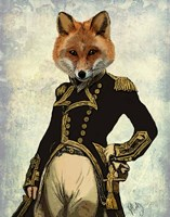Admiral Fox Full II Fine-Art Print